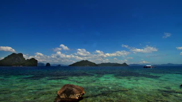 Palawan El Nido Island timelapse