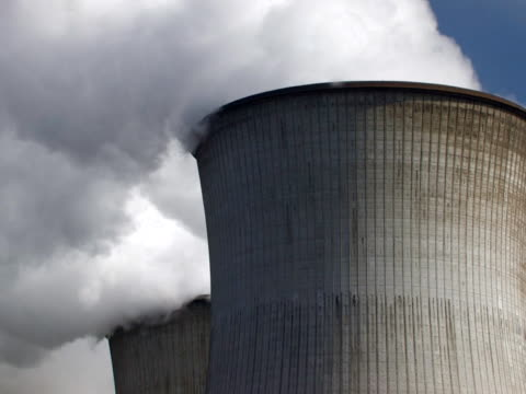 pal:cooling tower - carbon monoxide stock videos & royalty-free footage