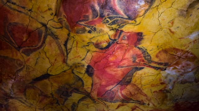 Paleolithic art in Neocave of Altamira