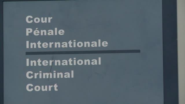 palestina se adhirio oficialmente este miercoles a la corte penal internacional lo que abre la puerta a que responsables israelies sean juzgados por... - palestina stock videos and b-roll footage