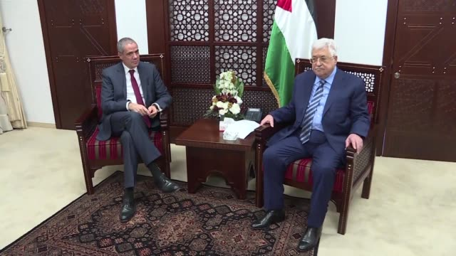 Palestinian leader Mahmud Abbas met with foreign officials Wednesday and handed them a letter asking them to react to Israel's imposition of taxes on...