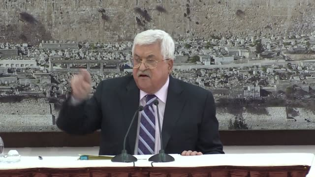 Palestinian president Mahmud Abbas labels the US ambassador to Israel David Friedman a son of a dog during an attack on Donald Trump's policies