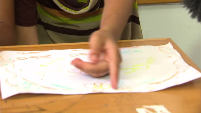 Palestinian Red Crescent workers are trying to help children in Gaza cope with the 'psychological problems' caused by repeated exposure to conflict...