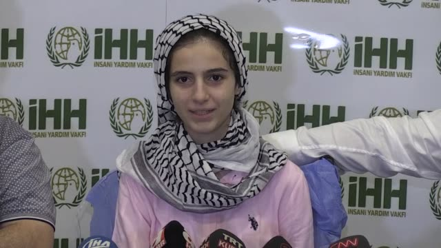 Palestinian teenage girl who was shot by Israeli soldiers during antioccupation rallies on Gaza Strip will be able to walk again her doctor said...