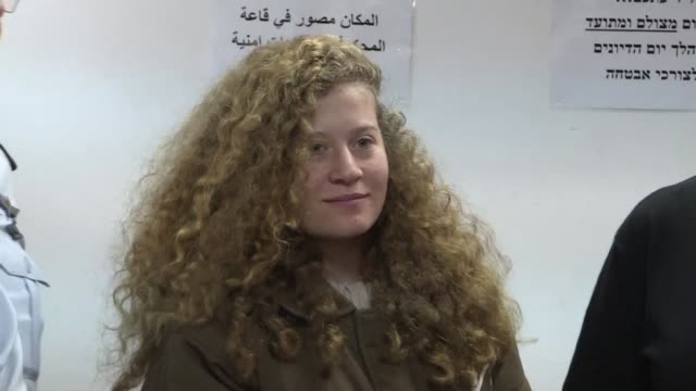 Palestinian teenager Ahed Tamimi appeared in an Israeli military court Monday for slapping a soldier in the occupied West Bank an incident captured...