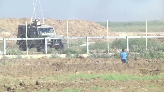 Palestinian volunteer paramedic was killed by Israeli forces Friday at the Gaza border as dozens of others were injured by live bullets amid mass...