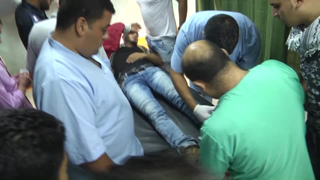Palestinian was killed and scores of people were injured during clashes between Palestinians and Israeli soldiers near the Erez crossing and injured...
