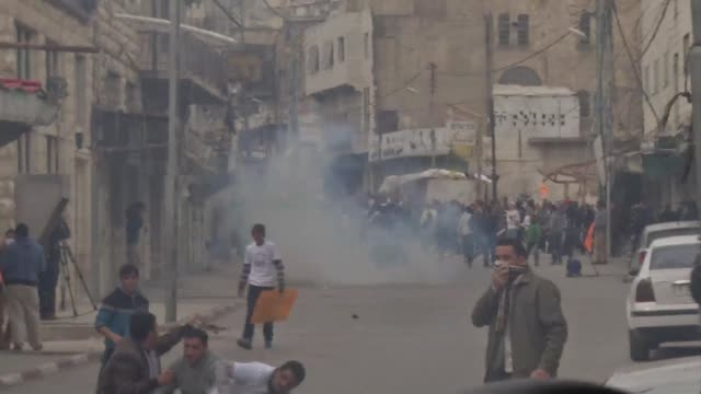 palestinians demanding the release of hunger striking prisoners clashed with israelis in the west bank and east jerusalem on friday as three fasting... - prisoner stock videos and b-roll footage