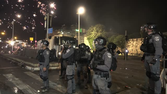 ISR: Violent Clashes In East Jerusalem