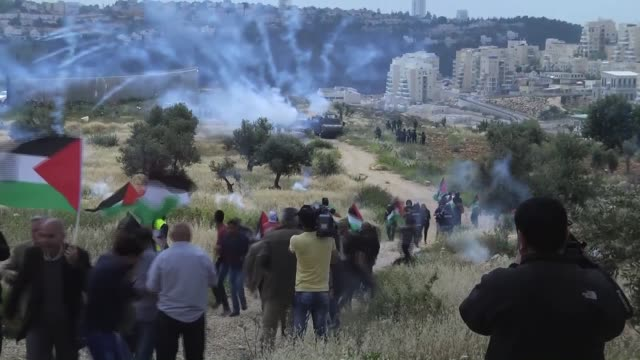 Palestinians were wounded – and scores of others suffered temporary asphyxiation – when Israeli troops dispersed Friday protests in different parts...