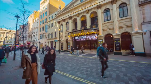 stockvideo's en b-roll-footage met palladium theatre in london. - london palladium