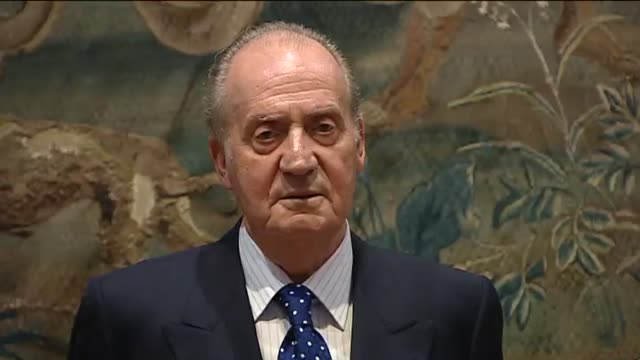 Palma de Mallorca Aug 9 Spain's King Juan Carlos and his family host a dinner feast for some 50 Balearic Islands authorities an official lavish event...