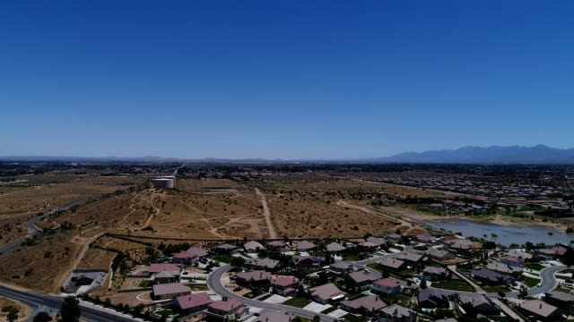 palmdale skyline during the day - palmdale stock videos and b-roll footage