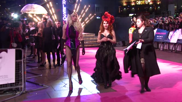 paloma faith at the burlesque uk premiere at london england - burlesque stock videos & royalty-free footage