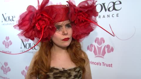paloma faith on her fashion style, on being on stage with music legends, and meeting phil collins. *guardian & telegraph out* at the prince's trust... - フィル・コリンズ点の映像素材/bロール
