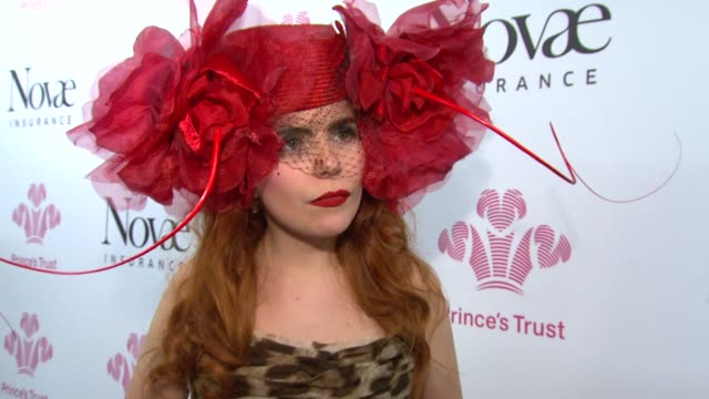 paloma faith on her fashion style, on being on stage with music legends, and meeting phil collins. *guardian & telegraph out* at the prince's trust... - phil collins stock videos & royalty-free footage