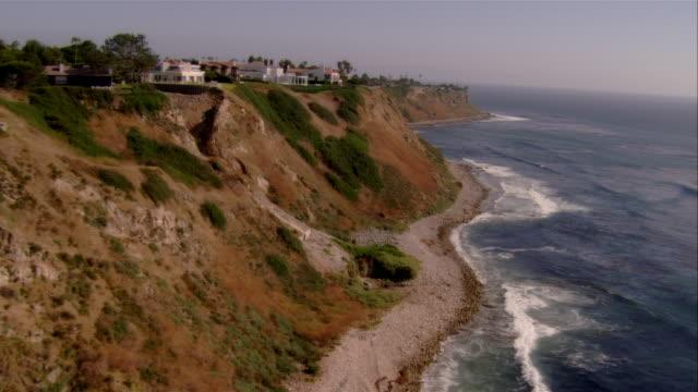 pan, ha palos verdes coastline, california, usa - palos verdes stock videos & royalty-free footage