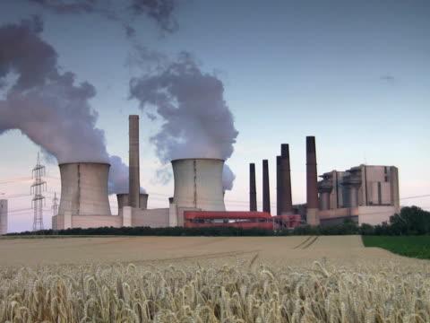 stockvideo's en b-roll-footage met pal:power station - mens gemaakte bouwwerken