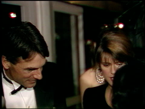 pam dawber at the afi awards honoring gregory peck at the beverly hilton in beverly hills california on march 9 1989 - gregory peck stock videos and b-roll footage
