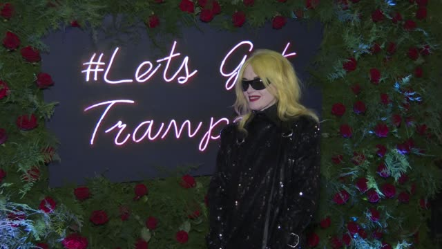 pam hogg at tramp's big 50th anniversary at tramp on december 17 2019 in london england - tramp stock videos & royalty-free footage