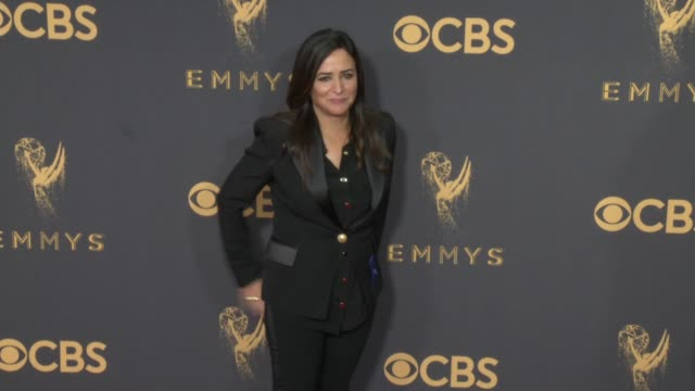 Pamela Adlon at the 69th Annual Primetime Emmy Awards at Microsoft Theater on September 17 2017 in Los Angeles California
