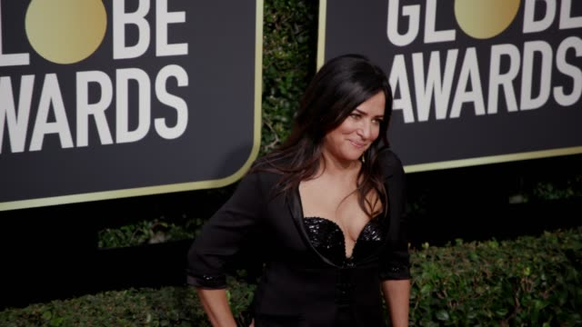 Pamela Adlon at the 75th Annual Golden Globe Awards at The Beverly Hilton Hotel on January 07 2018 in Beverly Hills California