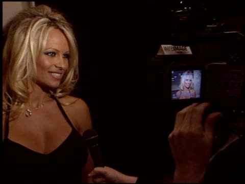 pamela anderson at the 2004 annual adoptaminefield gala at the century plaza hotel in century city california on october 15 2004 - 2004 stock-videos und b-roll-filmmaterial