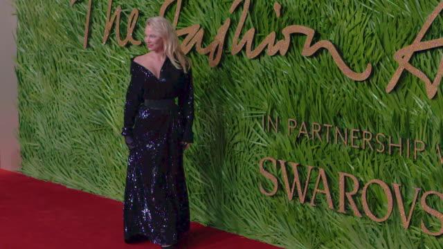 Pamela Anderson at The Fashion Awards 2017 at Royal Albert Hall on December 04 2017 in London England