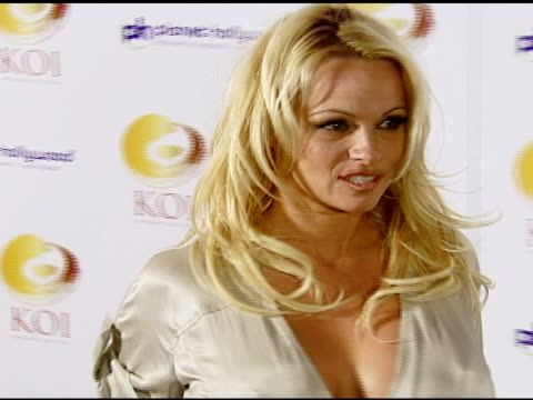 Pamela Anderson at the KOI Las Vegas Grand Opening at Planet Hollywood in Las Vegas Nevada on November 9 2007