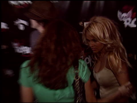 pamela anderson at the rokbar hollywood opening on june 30 2005 - 2005 stock-videos und b-roll-filmmaterial
