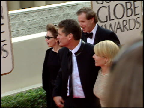 pamela bach at the 1998 golden globe awards at the beverly hilton in beverly hills, california on january 18, 1998. - pamela bach stock videos & royalty-free footage