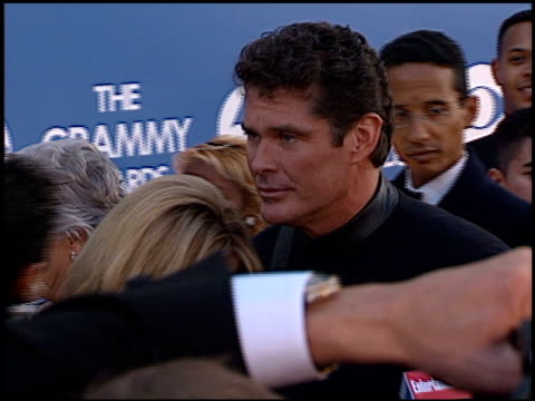 pamela bach at the 2000 grammy awards arrivals at staples center in los angeles, california on february 23, 2000. - pamela bach stock videos & royalty-free footage
