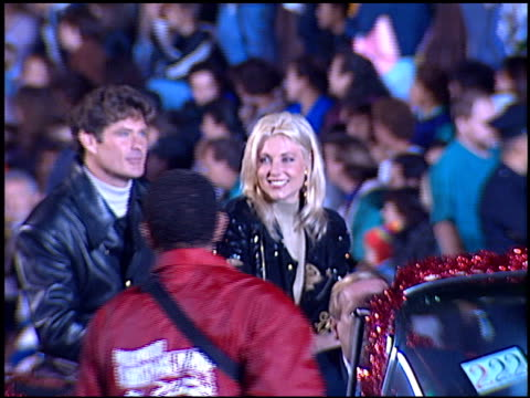pamela bach at the hollywood christmas parade on december 3, 1995. - pamela bach stock videos & royalty-free footage