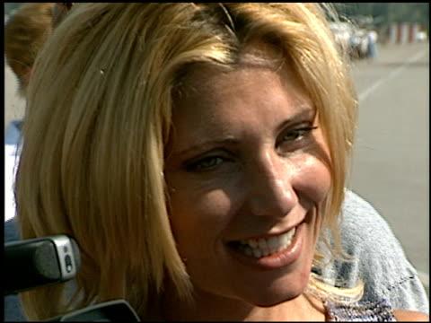 pamela bach at the van nuys airshow at van nuys airport in van nuys, california on july 17, 1998. - pamela bach stock videos & royalty-free footage