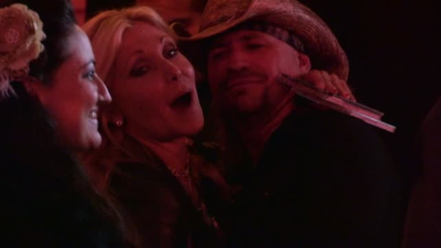 pamela bach hasselhoff & brandon shepard at pink taco in west hollywood, 12/03/12 - pamela bach stock videos & royalty-free footage