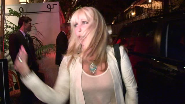 pamela bach hasselhoff on harvey levin & the hardest job she has ever had to work at chateau marmont at celebrity sightings in los angeles on may 21,... - pamela bach stock videos & royalty-free footage