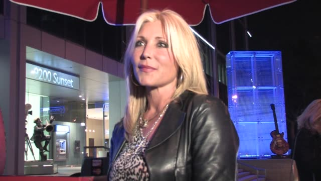 pamela bach-hasselhoff at boa in west hollywood on 6/9/2011 - pamela bach stock videos & royalty-free footage