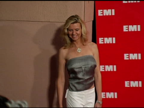pamela day at the emi post-grammy awards bash at the beverly hilton in beverly hills, california on february 13, 2005. - emi grammy party stock videos & royalty-free footage