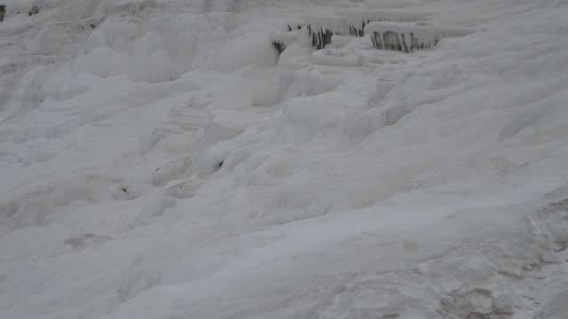 パムッカレ トラバーチン プール - 堆積岩点の映像素材/bロール