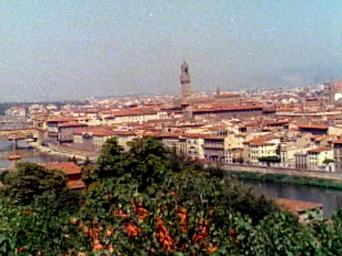 pan across florence - florence stock videos and b-roll footage