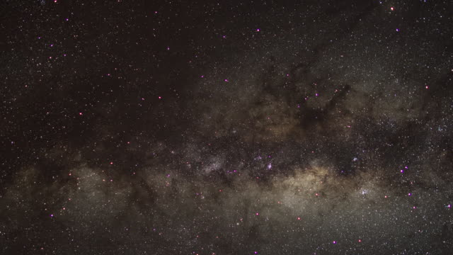 Pan across the Milky Way