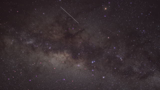 Pan across the Milky Way