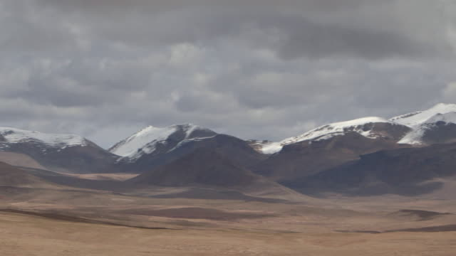 pan across the spectacular bolivian andes. - bolivian andes stock videos & royalty-free footage