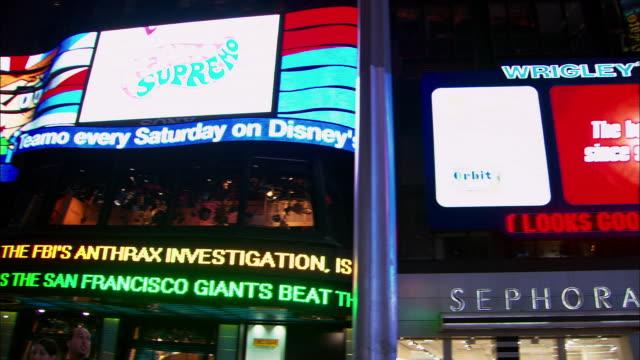 360 pan around Times Square at night / NYC