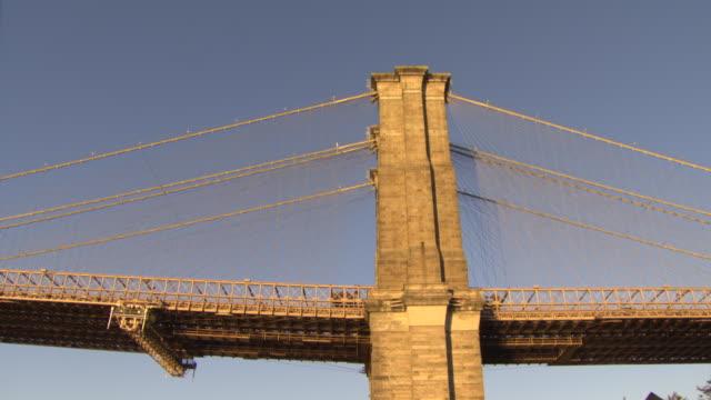 vídeos y material grabado en eventos de stock de pan from manhattan bridge to manhattan island, new york city, usa - estilo siglo xx