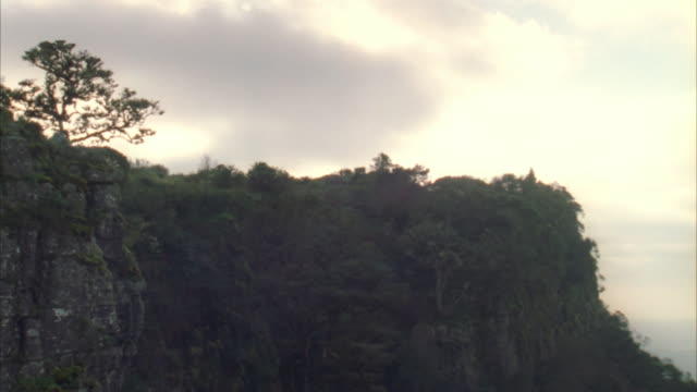 pan from the pinnacle in mpumalanga - sabie stock videos and b-roll footage