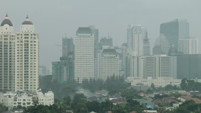 Pan Left Ariel Jakarta Indonesuia