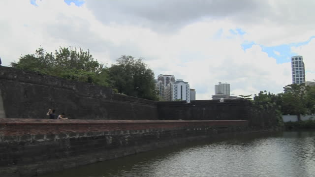 Pan left Fort Santiago gate Manila Phillipines