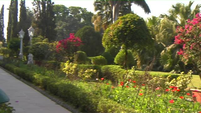 Pan Left Udaipur Garden Udaipur Rajasthan India