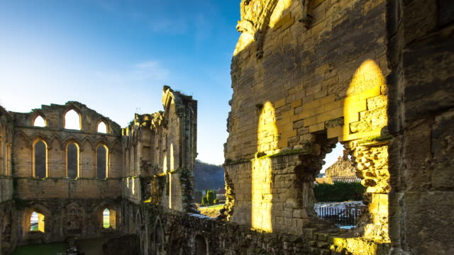 T/L Pan of Rievaulx Abbey